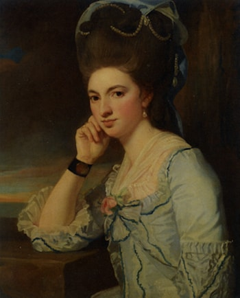 Portrait of a Lady by George Romney