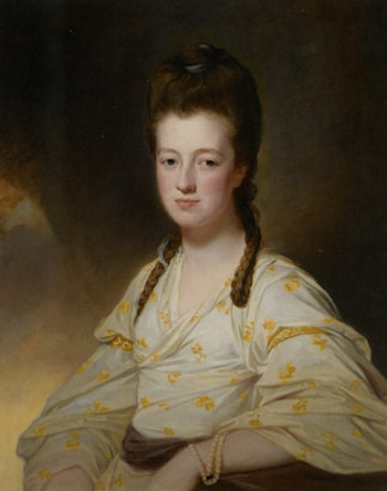 Portrait of a Lady Dorothy Cavendish Wife of William Cavendish Bentinck 3rd Duke of Portland by George Romney