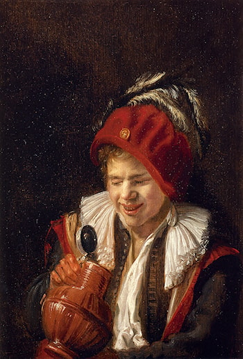 """Kannekijker"" ­ A Youth With A Jug by Judith Leyster"