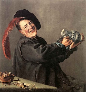 Jolly Toper by Judith Leyster