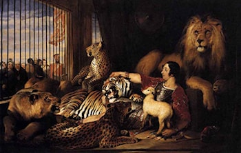Isaac van Amburgh and his Animals by Sir Edwin Henry Landseer