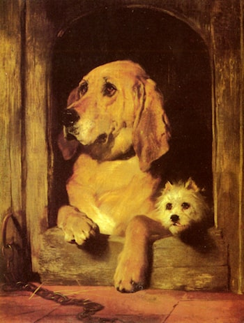 Dignity and Impudence by Sir Edwin Henry Landseer