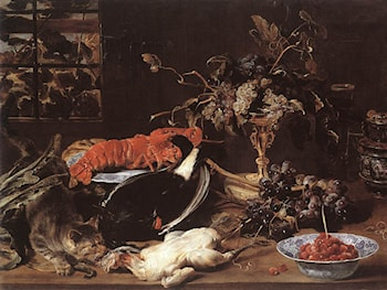 Still­life with Crab and Fruit by Frans Snyders