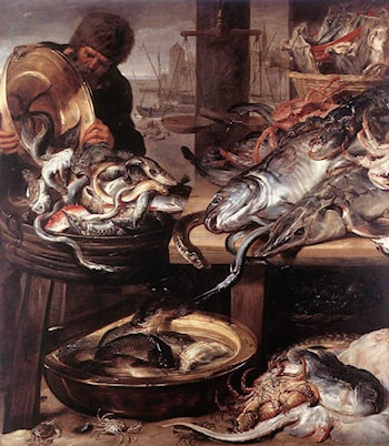 The Fishmonger by Frans Snyders