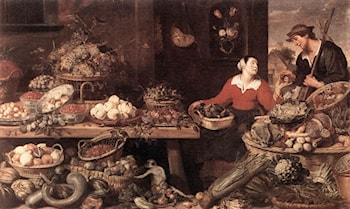 Fruit and Vegetable Stall by Frans Snyders