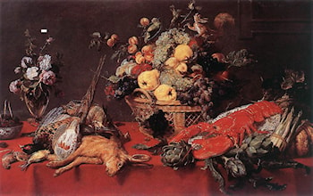 Still­life with a Basket of Fruit by Frans Snyders