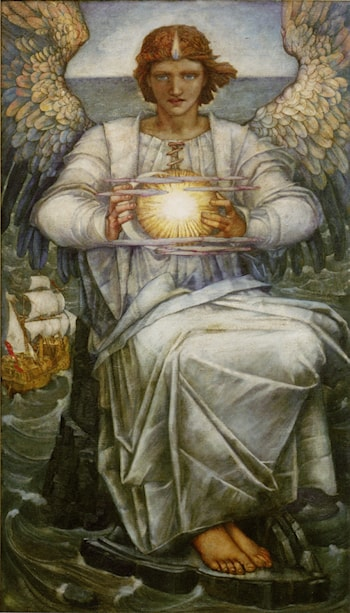 The Angel of the Sea by Edward Reginald Frampton