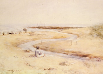 Carnoustie Bay by Robert Gemmell Hutchison