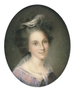 Rachel Brewer Peale by Charles Willson Peale