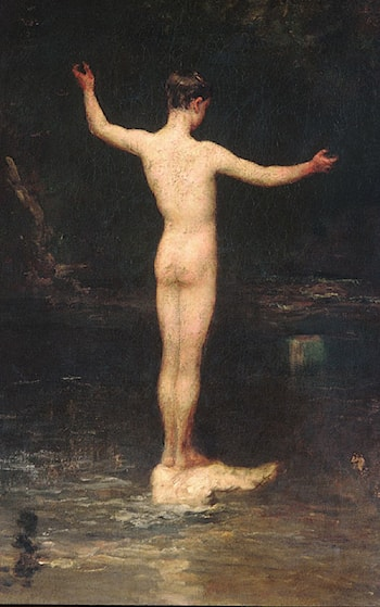 The Bathers by William Morris Hunt