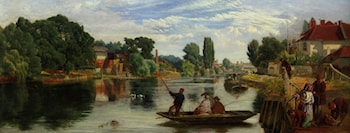 On The Thames by William Henry Knight