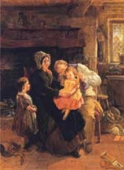 The Youngest Child by William Henry Knight
