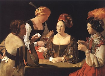 Cheater with the Ace of Diamonds by Georges de La Tour