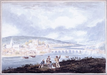 Rochester, Kent, from the North by Thomas Girtin