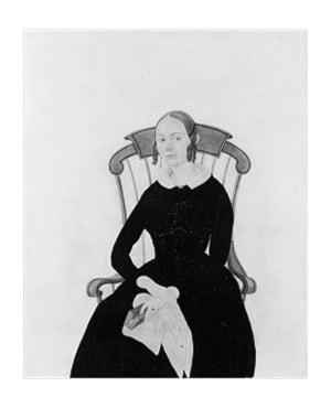 Lady Seated in a Boston Rocker by Jane Anthony Davis
