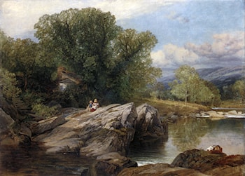 Bettws y Coed by Frederick William Hulme