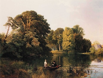 A Quiet Retreat, Surrey by Frederick William Hulme
