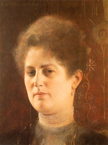 Portrait of a Lady by Gustave Klimt