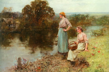Waiting for the Ferryman by Henry John Yeend King