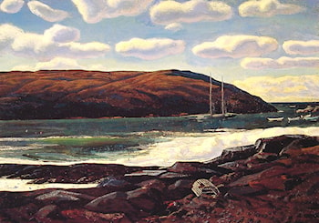 Monhegan Harbour by Rockwell Kent