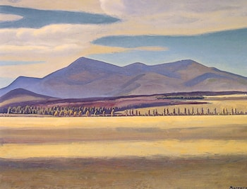 Mount Whiteface Asgaard by Rockwell Kent