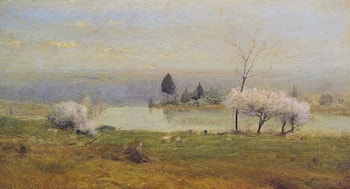 Pond at Milton on the Hudson by George Inness