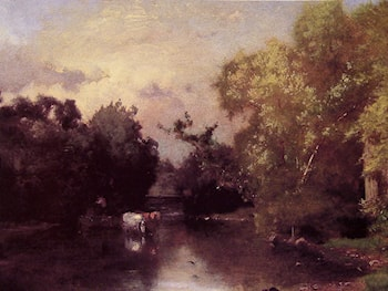 The Pequonic, New Jersey by George Inness