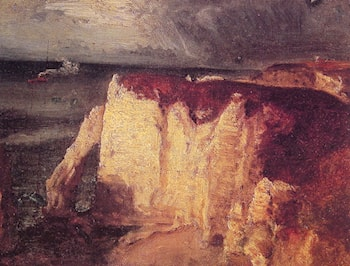 Etretat by George Inness