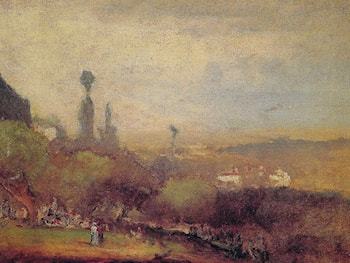 Monte Lucia, Perugia by George Inness