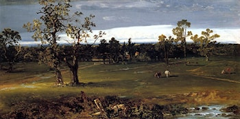At Pasture by John Frederick Kensett