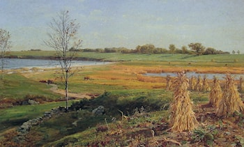 Connecticut Shoreline in Autumn by John Frederick Kensett