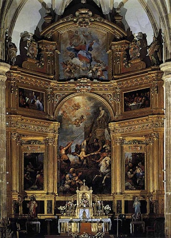 Altarpiece by Francisco Rizi