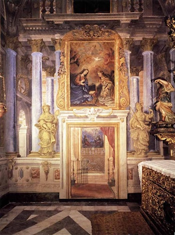Decoration of the Capilla del Milagro by Francisco Rizi