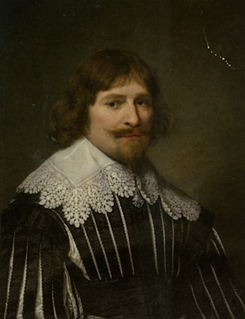 Portrait of a Gentleman by Cornelius Janssens (Johnson) Ceulen