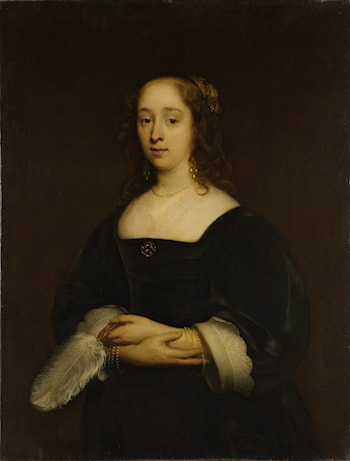 Portrait of a Woman by Cornelius Janssens (Johnson) Ceulen