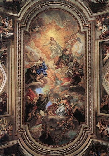 Apotheosis of the Franciscan Order by Baciccio