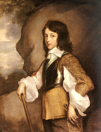 Portrait of Henry Stuart, Duke of Gloucester (1640­1660), When A Boy by Adriaen Hanneman