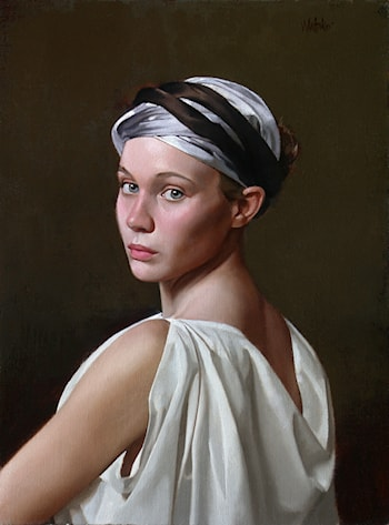 Young Woman by William Whitaker