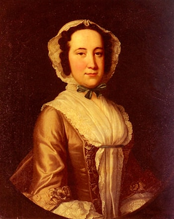 Portrait Of A Lady by Thomas Hudson