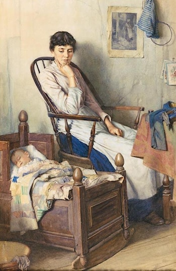Motherhood by Walter Langley