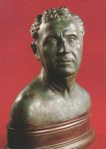 Bust of a Man by Antico