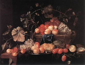 Fruit by Theodoor Aenvanck