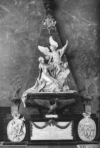 Monument to Queen Catharina Opalinska by Nicolas-Sébastien Adam