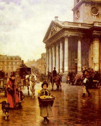 St Martin­in­the Fields by William Logsdail