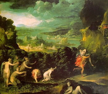The Rape of Proserpine by Niccolo dell' Abbate